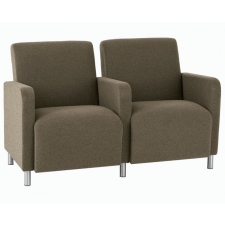 Lesro Ravenna Series Two Seat Sofa With Center Arm