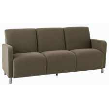 Lesro Ravenna Series Three Seat Sofa With Optional Steel or Wood Legs