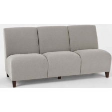Lesro Siena Series 3 Seat Armless Reception Sofa