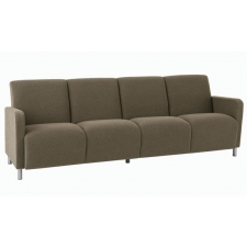 Lesro Ravenna Series Four Seat Sofa With Optional Steel or Wood Legs