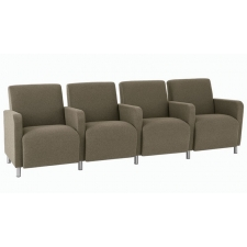 Lesro Ravenna Series Four Seat Sofa With Center Arms