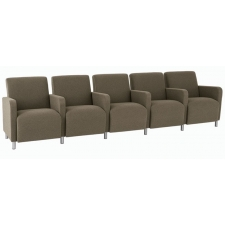 Lesro Ravenna Series Five Seat Sofa With Center Arms