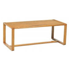 Lesro Contour Series Coffee Table w/ Sled Base