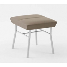 Lesro Mystic Series 1 Seat Reception Bench Steel Frame