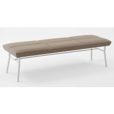 Lesro Mystic Series 3 Seat Reception Bench Steel Frame