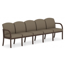 Lesro Weston Series 5 Seat Sofa w/ Solid Hardwood