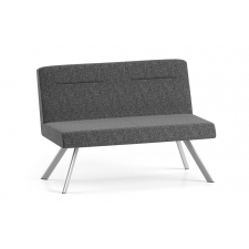 Lesro Willow Series Armless Loveseat