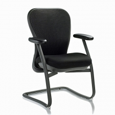 Nightingale CXO Guest Chair With Sled Base