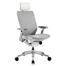 Nightingale IC2 Mesh Office Chair White