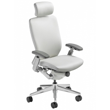Nightingale IC2 Fully Upholstered Office Chair White