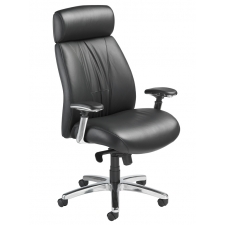 Nightingale Presider High Back Executive Office Chair With Built-In Headrest