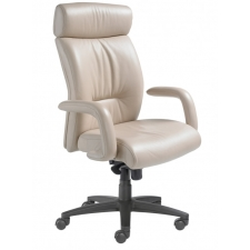 Nightingale Manno High Back Executive Office Chair With Waterfall Seat Design