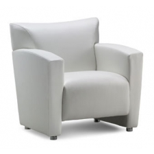 Tribeca Series Leather Soft Vinyl Club Chair
