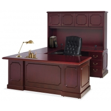 OS 900 Traditional U Shaped Desk with Hutch