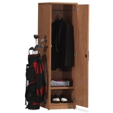 OS Laminate Series Personal Storage with Wardrobe Unit and Shoe Shelf