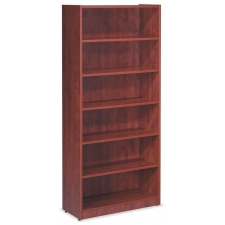 OS Laminate Series 4 Adjustable and 1 Fixed Shelf Bookcase