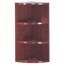 OS Laminate Series 2 Shelf Corner Bookcase