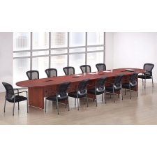 OS Laminate Expandable Racetrack Conference Tables