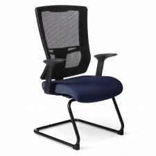 Office Master Affirm High-Back Guest Chair AR-11 Arms