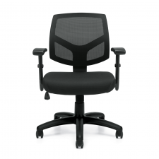 Offices To Go Mesh Back Task Chair w/ Adjustable Arms