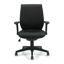 Offices To Go Air Mesh Back Office Chair w/ Height Adjustable Arms
