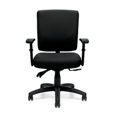 Offices To Go Ergonomic Multi-Function Desk Chair w/ Seat Depth Adjustment