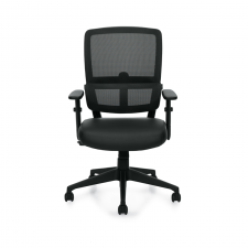 Offices To Go Mesh Back Computer Chair w/ Pivoting Lumbar