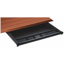 Under Desk Sliding Center Pencil Drawer w/ Five Compartments