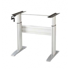 NewHeights™ Crank Sit Stand Base Only - Just Add Your Own Top - 250lbs Capacity **Made in the USA**