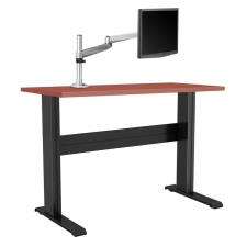 "NewHeights™ Fixed Height Stand Standing Desk - Custom Heights From 22"" to 52"" Tall **Made in the USA**"