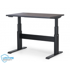 "NewHeights Elegante XT Electric Sit Stand Desk - 24"" to 51"" Adjustment Range - 325 lbs Capacity **Made in the USA**"