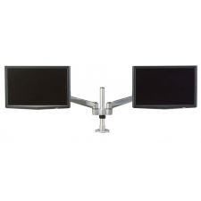 Hover™ 2 Post Mount Dual Monitor w/ Double Extension Arms