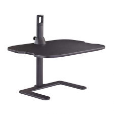 Safco Stance Black Finish Adjustable Laptop Stand Metal Frame