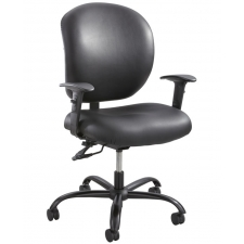 Safco Alday™ 24/7 Big And Tall Vinyl Office Chair 500 lb Rating