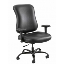 Safco Optimus™ Big And Tall Vinyl Office Chair Rated For 400 lbs.