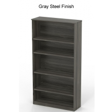 Mayline Medina Series 5 Shelf Bookcase - 5 Color Options
