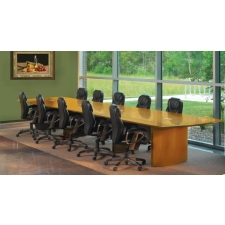 Mayline Napoli Series Executive Boardroom Table