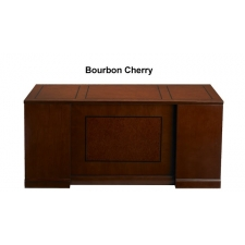 Mayline Sorrento Wood Veneer Double Pedestal Desk Two Finish Options