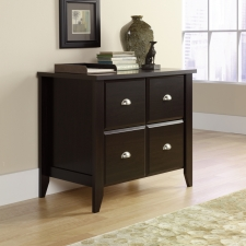 Sauder Shoal Creek Lateral File With Jamocha Finish
