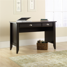 Sauder Shoal Creek Home Office Desk w/ Pull Out Drawer Jamocha Finish
