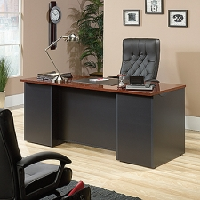 Sauder Via Executive Desk With EverSheen Top Coat Finish