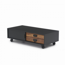Sauder Boulevard Cafe Black Finish Coffee Table
