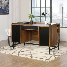 Sauder Harvey Park Home Office Desk - Walnut Finish
