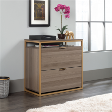 Sauder International Lux 2 Drawer Lateral File - Ash Finish