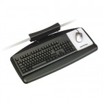 3M� AKT65LE Keyboard Tray - Our Easiest to Assemble Keyboard System. No Tools Required for Installation on This Model!