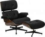 BTOD Presideo Top Grain Italian Leather Lounge Chair Includes Ottoman