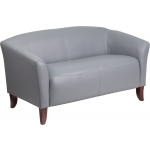 BTOD Imperial Series Leather Love Seat Available In Black, White or Brown