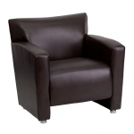 BTOD Majesty Series Leather Lounge Chair Available In Black, White or Brown