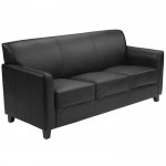 BTOD Diplomat Series Leather Sofa Available In Black Or Brown
