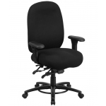 BTOD Intensive Use Big And Tall Drafting Chair Rated For 350 lbs.